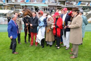 Auteuil - 30/04/2015 - PRIX LEON RAMBAUD (Gr 2) - BLUE DRAGON, David Cottin - Guy Cherel -