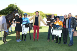 Saint-Cloud - 05/10/2016 - PRIX GLORIEUSE - COUNTISTER, Pierre-Charles Boudot - BUBBLE SEA, Gregory Benoist - Gregoire Leenders -
