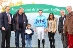 Maisons-Laffitte - 27/10/2016 - PRIX CHLORIS (Gr 2 AQPS) - COUNTISTER, Pierre-Charles Boudot - Etienne Leenders -