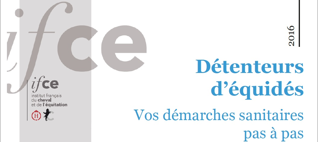2016 IFCE Guide du détenteur des équidés