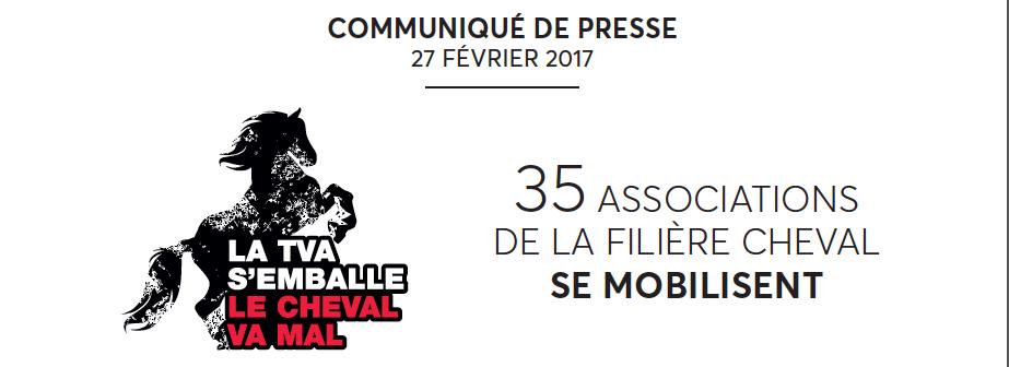 TVA 2017 suite, la signature de l'Appel aux Pouvoirs Publics à l'occasion du Salon de l'Agriculture
