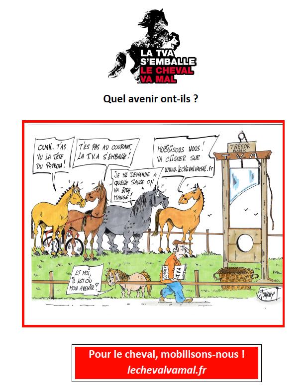 Mars 2017, signez les 2 pétitions pour l'avenir des courses et de la filière Hippique en France.