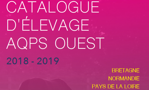 Catalogue d'Elevage AQPS Ouest 2018-2019