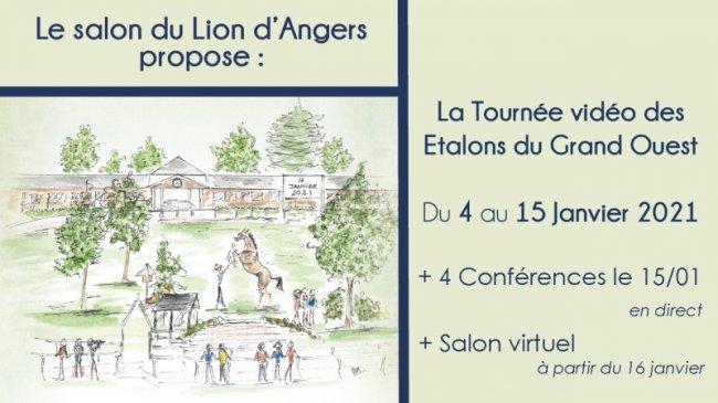 Tournée des Etalons du Grand Ouest et Conférences / Salon virtuel 2021